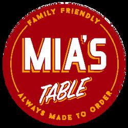 Mia's Table - Bay Area