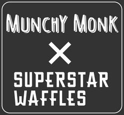 Munchy Monk X Superstar Waffles